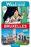 Céline Fion et Patrick Hauser - Un grand week-end à Bruxelles. 1 Plan détachable