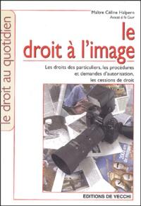 Céline Halpern - Le droit à l'image.