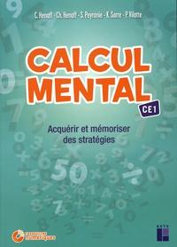 Céline Henaff et Christian Henaff - Calcul mental CE1 - Acquérir et mémoriser des stratégies. 1 Cédérom