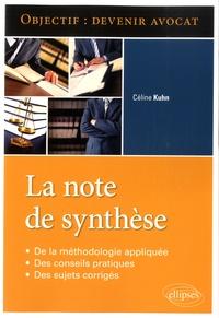 Céline Kuhn - La note de synthèse.