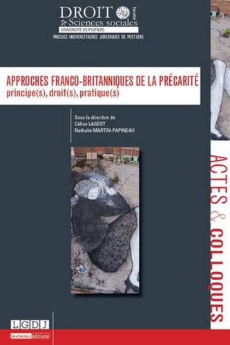 Céline Lageot et Nathalie Martin-Papineau - Approches franco-britanniques de la précarité.