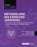 Céline Laronde-Clérac et Agnès de Luget - Méthodologie des exercices juridiques - 5 exercices, 3 disciplines.