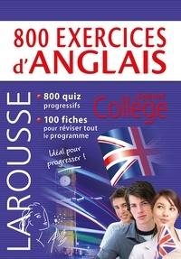 Céline Leclercq et Patrick Santini - 800 exercices d'anglais.