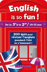 English is so fun !- De la 3e à la 2de / 14-15 ans - Céline Leclercq |