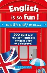 English is so fun !- De la 5e à la 4e / 12-13 ans - Céline Leclercq |