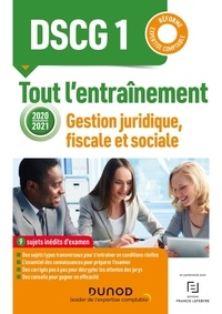 Céline Mansencal et Damien Meunier - DSCG 1 Gestion juridique, fiscale et sociale - Tout l'entraînement.