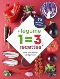Céline Mingam - 1 légume = 3 recettes - Vous allez adorer les légumes !.