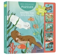 Céline Potard et Maud Legrand - Sous l'eau avec Kimy la loutre - Avec 5 puzzles de 9 pièces.