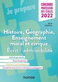 Céline Sala et Christophe Meunier - Concours Professeur des écoles - Histoire Géographie EMC 2022 - Ecrit/admissibilité.