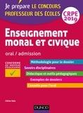Céline Sala - Enseignement moral et civique - Oral, admission - CRPE 2019.