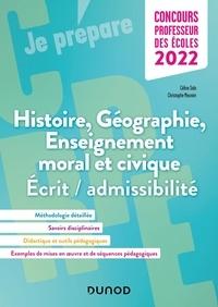 Céline Sala et Christophe Meunier - Histoire Géographie EMC - Ecrit/admissibilité.