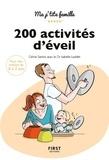 Céline Santini et Isabelle Leddet - 200 activités d'éveil - 0-3 ans.