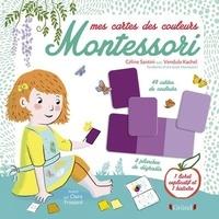 Céline Santini et Vendula Kachel - Mes cartes couleurs Montessori - Avec 1 cahier d'activités pour les enfants, 1 mode d'emploi pour les parents, 57 artes de couleurs et 9 planches de dégradés.
