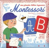 Céline Santini et Vendula Kachel - Mes grandes lettres rugueuses Montessori.