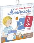 Céline Santini et Vendula Kachel - Mes lettres rugueuses Montessori.