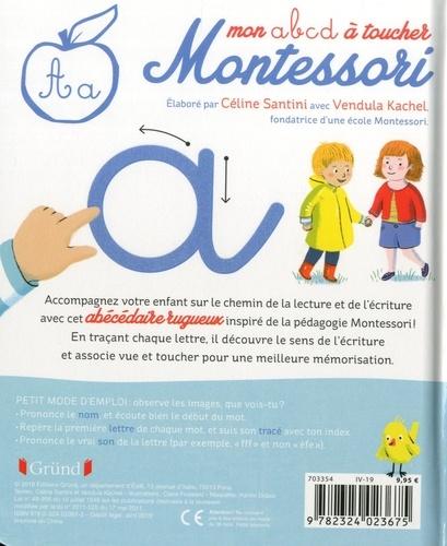 Mon abcd à toucher Montessori