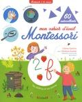 Céline Santini et Vendula Kachel - Mon cahier d'éveil Montessori - 60 autocollants.