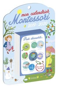 Ebook store téléchargement gratuit Mon calendier Montessori (Litterature Francaise) par Céline Santini, Vendula Kachel, Claire Frossard