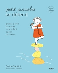 Céline Santini - Petit scarabée se détend.