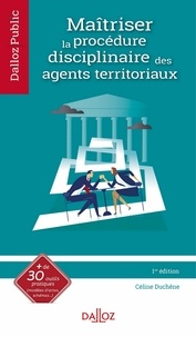 Céline Wilson - Maîtriser la procédure disciplinairedes agents territoriaux.