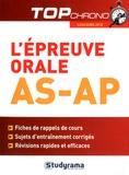 Céline Wistuba - L'épreuve orale AS-AP.