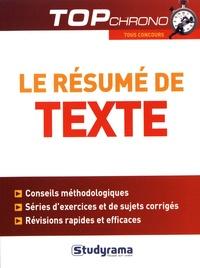 Céline Wistuba - Le résumé de texte.