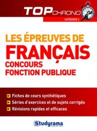 Céline Wistuba - Les épreuves de français concours Fonction Publique - Catégorie C.