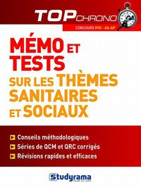 Céline Wistuba - Mémo et tests sur les thèmes sanitaires et sociaux.