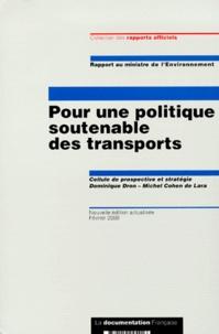 Pour une politique soutenable des transports. - Rapport au ministre de lEnvironnement, Edition Février 2000.pdf