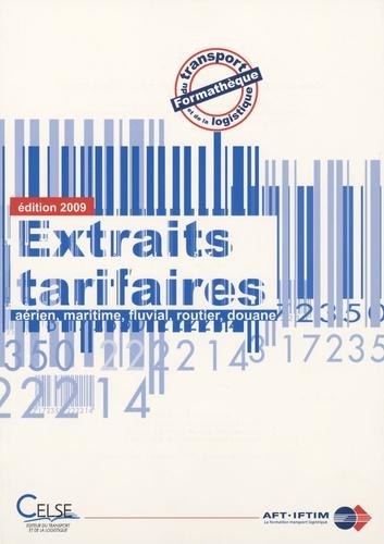Celse - Extraits tarifaires - Formathèque du transport et de la logistique.