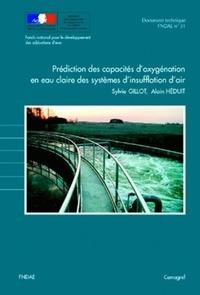 Cemagref - Prédiction des capacités d'oxygénation en eau claire des systèmes d'insufflation d'air.