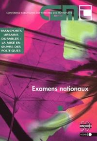 Deedr.fr Transports urbains durables : la mise en oeuvre des politiques - Examens nationaux Image