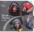 Cendrine Armani - Bonnets & chapeaux au crochet.