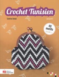 Cendrine Armani - Crochet tunisien - Volume 3, jacquard.