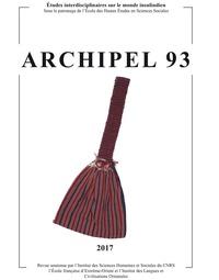Daniel Perret - Archipel N° 93/2017 : .