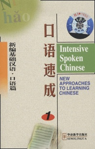 Sinolingua - Intensive Spoken Chinese - Pack 3 cassettes.