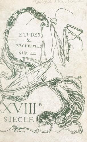 Études et recherches sur le XVIIIe siècle
