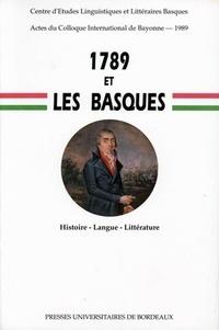 1789 et les Basques. Histoire, langue, littérature, Colloque de Bayonne, 30 juin-1er juillet 1989.pdf