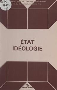 Centre de philosophie politiqu et Mireille Delbraccio - État, idéologie.