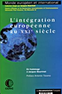 Centre études recherches inter - L'intégration européenne au XXe siècle.