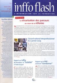 Centre INFFO - Inffo flash N° 738, du 16 au 31 : La sécurisation des parcours au coeur de la réforme.