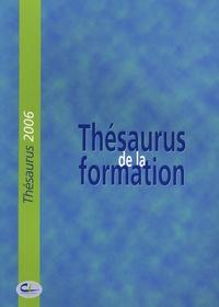 Centre INFFO - Thésaurus de la formation.