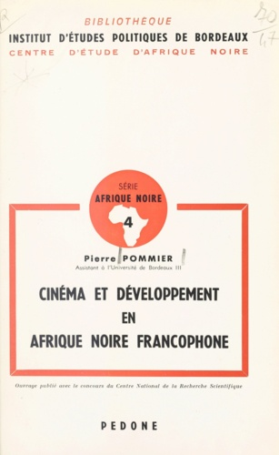 Cinéma et développement en Afrique noire francophone