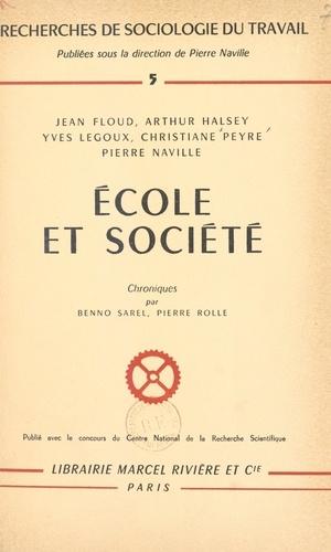 École et Société