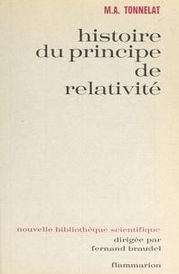 Centre national de la recherch et Marie-Antoinette Tonnelat - Histoire du principe de relativité.