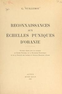 Centre national de la recherch et  Faculté des Lettres et Science - Reconnaissances aux échelles puniques d'Oranie.