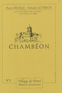 Marie Grange et Nathalie Courbon - Village de Forez  : Chambéon.
