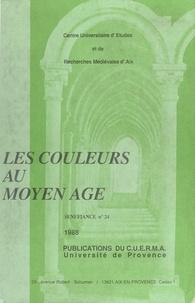 Centre universitaire d'études - Les Couleurs au Moyen Âge.