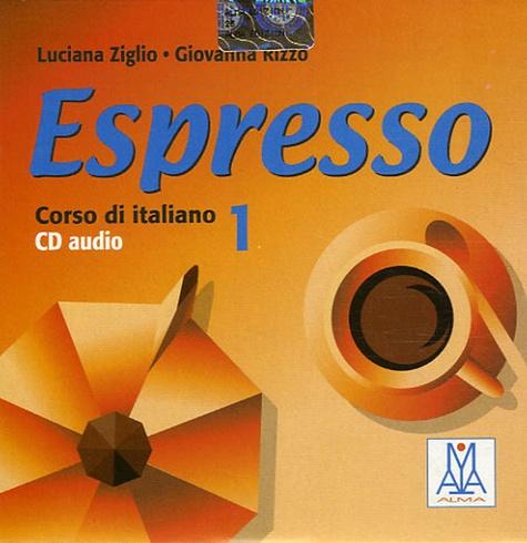 Luciana Ziglio et Giovanna Rizzo - Espresso Corso di Italiano 1 - CD audio.