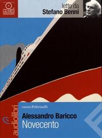 Alessandro Baricco - Novecento. 1 CD audio MP3